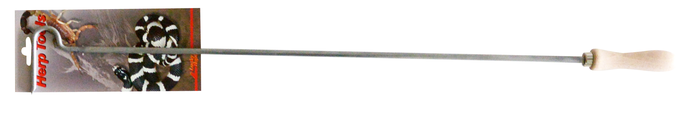 Крюк для обращения со змеями с деревянной