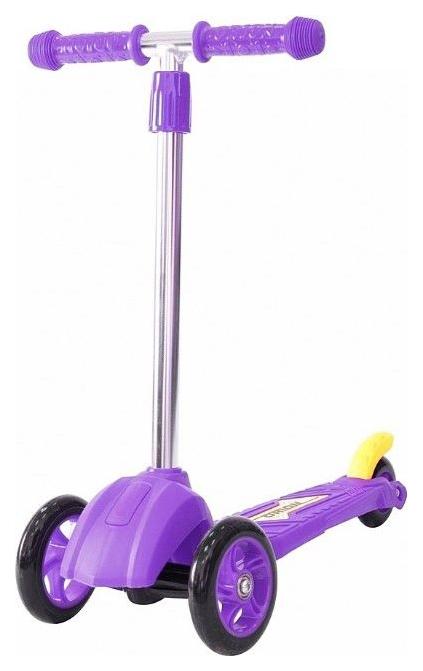 Купить Самокат RT MINI ORION фиолетовый, R-TOYS, Самокаты детские трехколесные