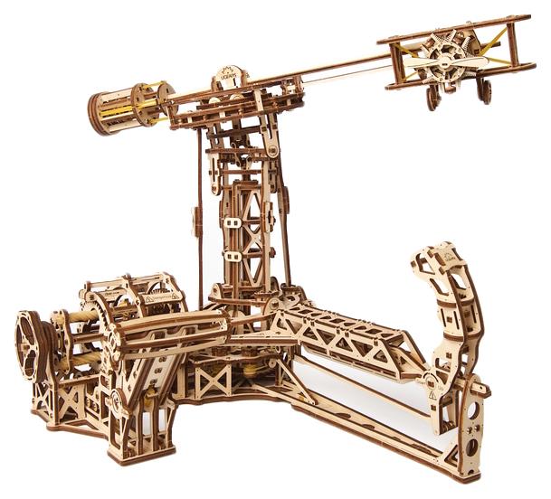 Сборная модель конструктор UGEARS Авиатор