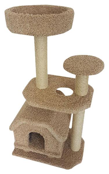 Комплекс для кошек Пушок Конура на ножках