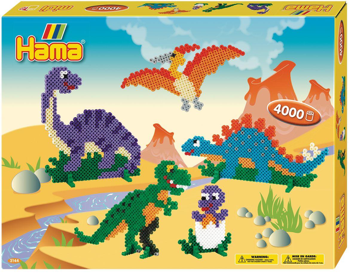 Набор для термомозаики Динозавры 4000 шт.