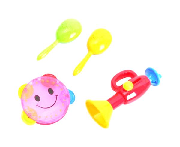 Купить Набор детских музыкальных инструментов Shenzhen Toys MusicSet, 4 предмета, Детские музыкальные инструменты