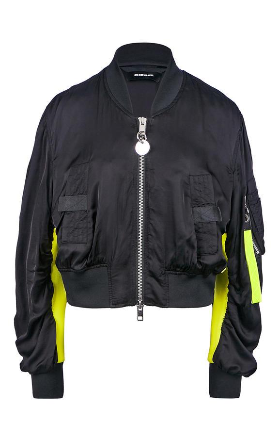 Куртка женская DIESEL черная 38