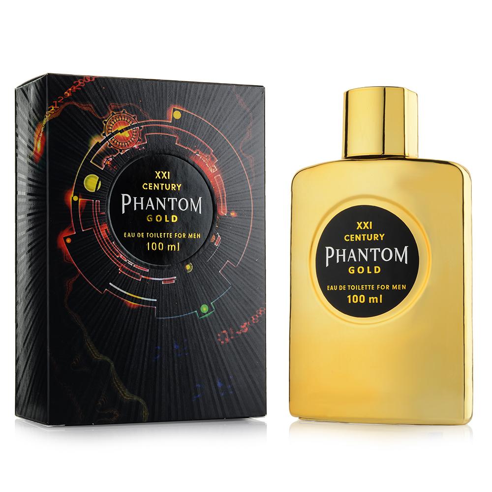 Туалетная вода для мужчин ПАРФЮМЕРИЯ XXI ВЕКА Phantom Gold