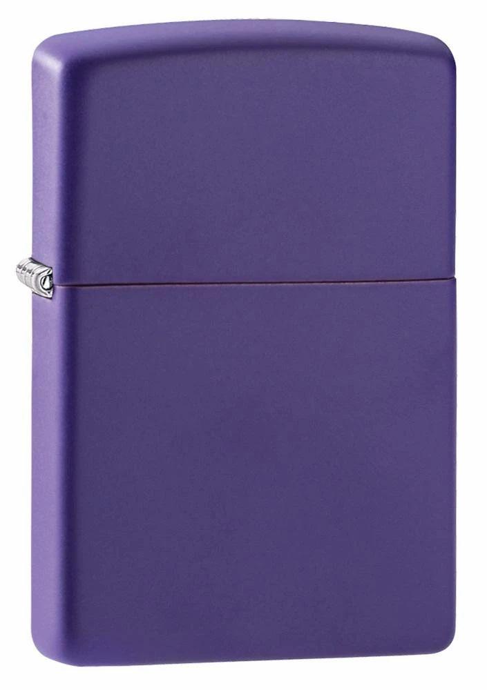 Бензиновая зажигалка Zippo Purple Matte Purple Matte