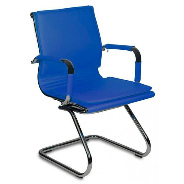 Офисный стул Бюрократ CH-993-LOW-V/Blue 843287, синий