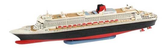 Набор лайнер queen mary 2 (1/1200)