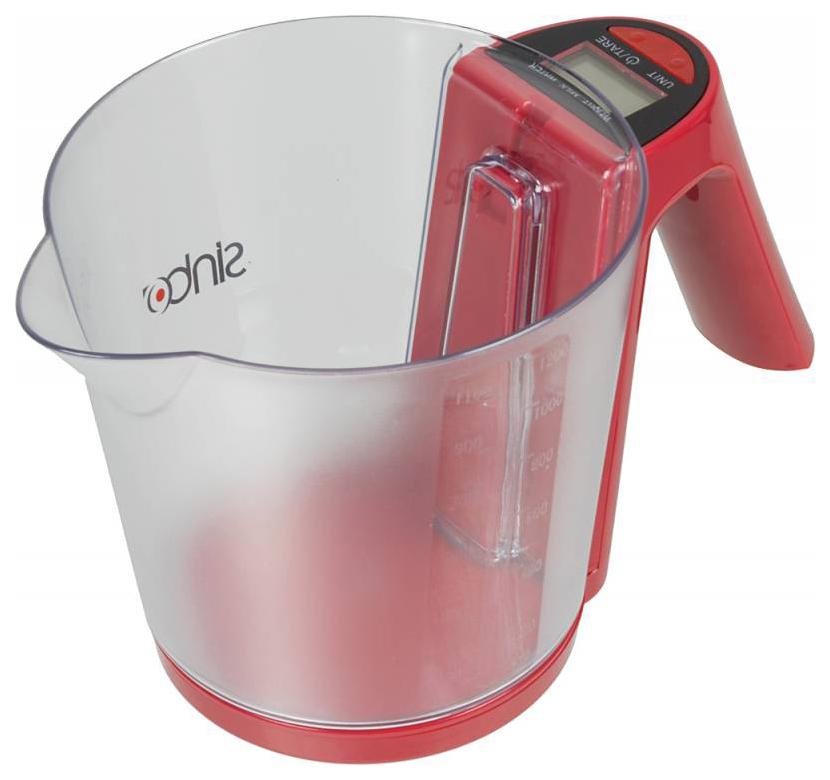 Весы кухонные SINBO SKS 4516 красный