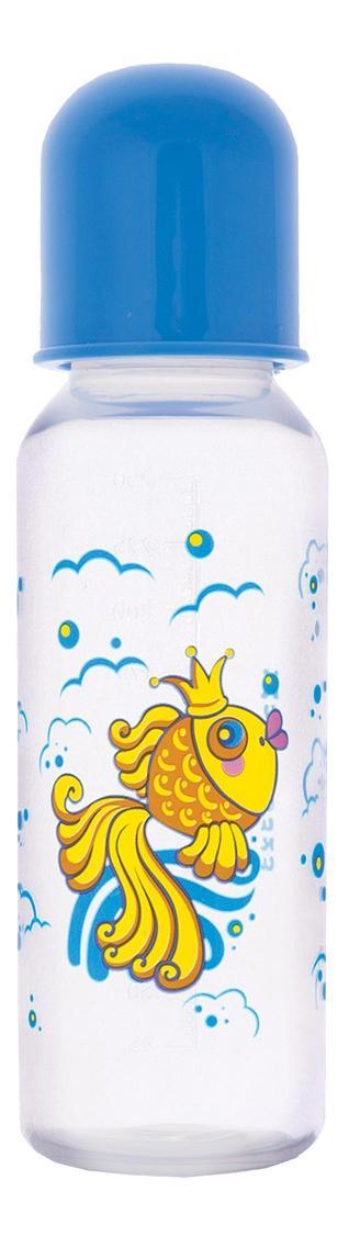 Купить Золотая рыбка, Бутылочка полипропиленовая с силиконовой соской золотая рыбка , 250мл, Курносики, Бутылочки для кормления