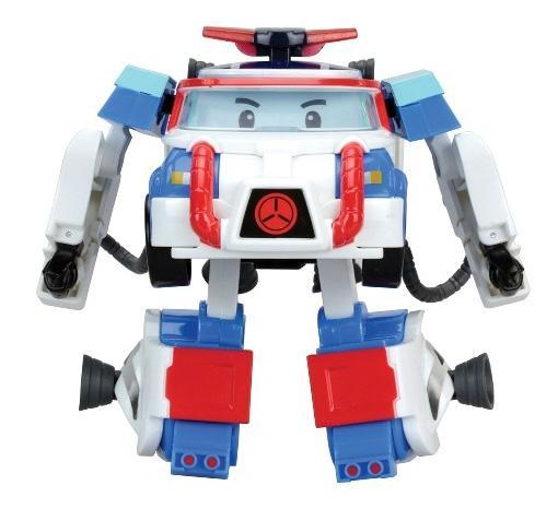 Купить Поли трансформер 10 см + костюм астронавта, Robocar Poli,