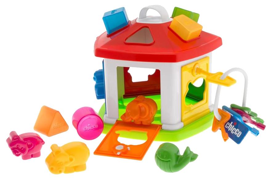 Игровой набор Chicco Домик с животными Baby Classi Игрушка-сортировщик