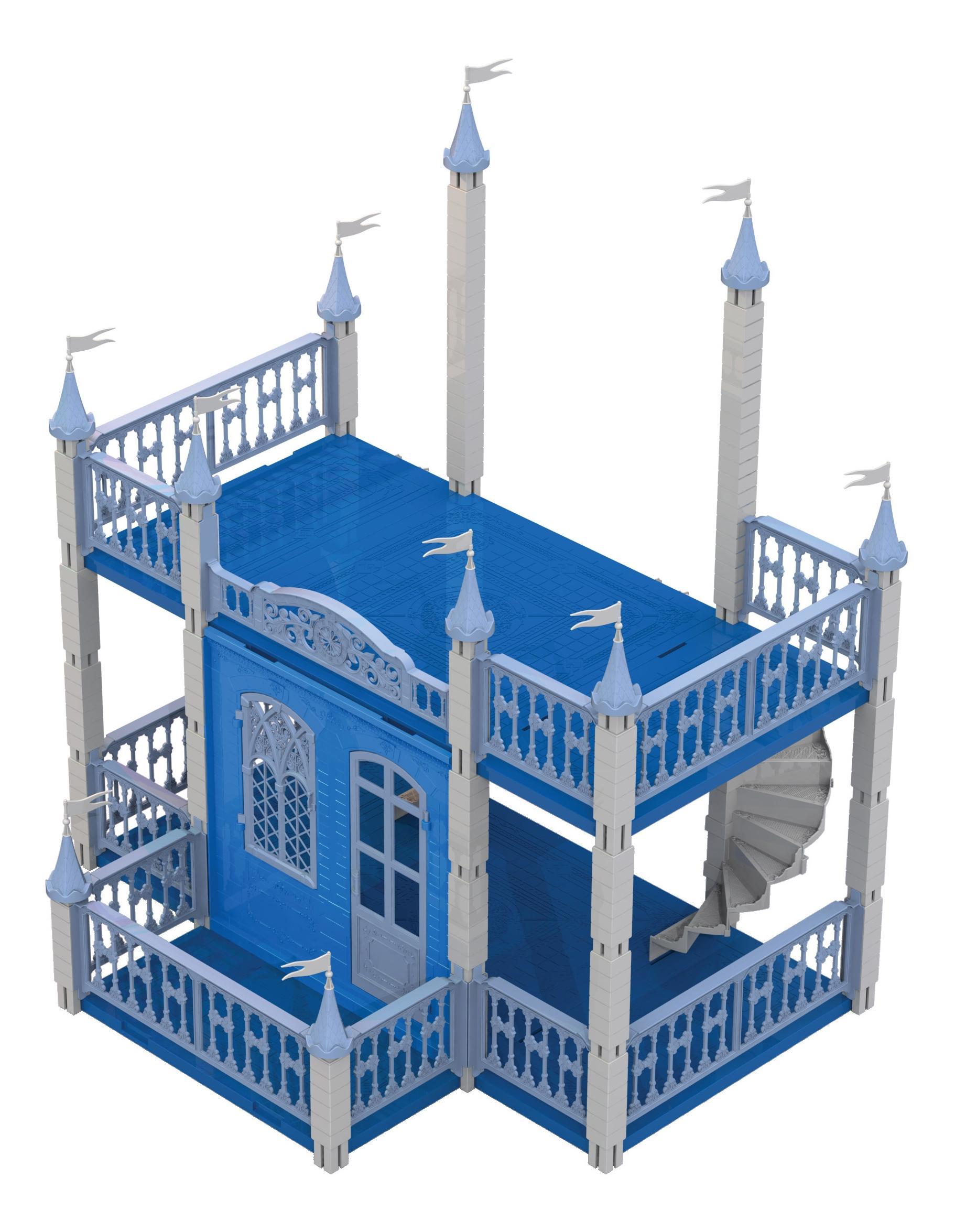 Снежная Королева, Замок снежная королева, НОРДПЛАСТ, Кукольные домики  - купить со скидкой