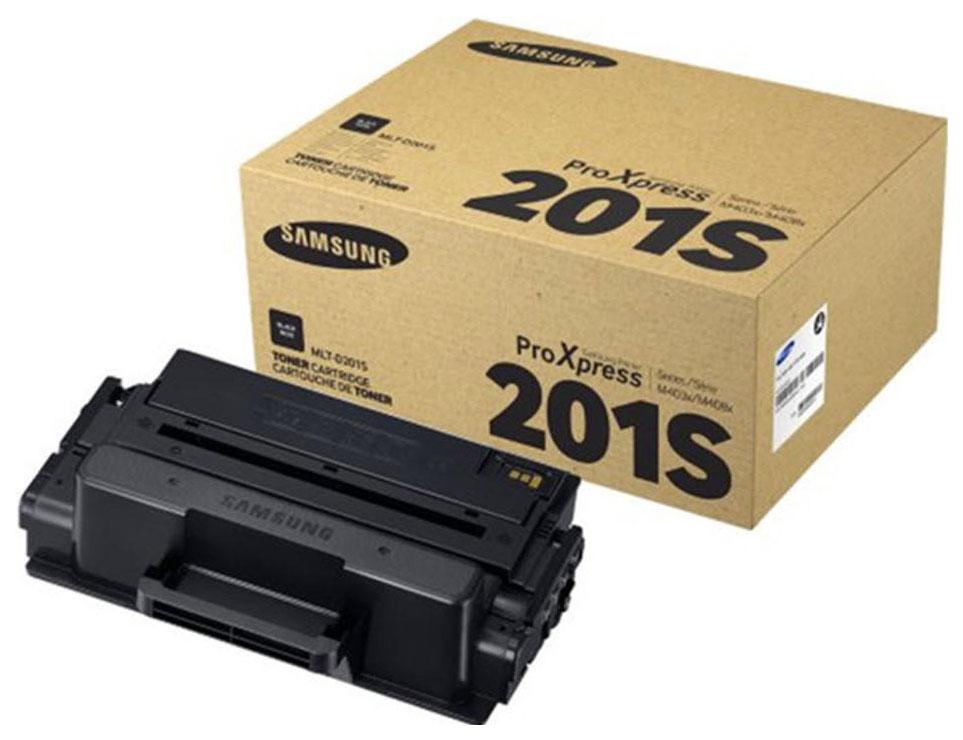 Картридж для лазерного принтера Samsung MLT-D201S, черный, оригинал