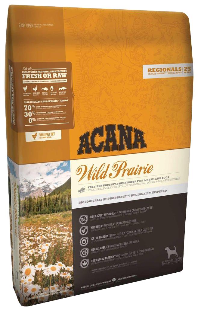 Сухой корм для собак ACANA Regionals Wild Prairie, курица, 2кг фото