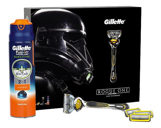 Подарочный набор Gillette Fusion ProShield Chill бритва и гель ActiveSport
