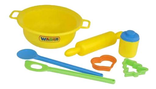 Купить Для выпечки, Набор посуды игрушечный Полесье Набор детской посуды для выпечки №1 П-40695, Игрушечная посуда
