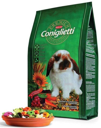 Корм для кроликов Padovan Premium Coniglietti 2 кг 1 шт