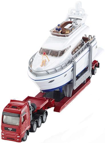 Купить Модель Siku Тягач с яхтой 1849, Строительная техника