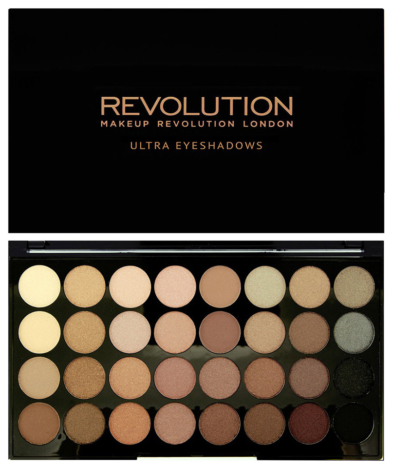 Тени для век Makeup Revolution Ultra 32 Shade Eyeshadow Palette Beyond Flawless 16 г фото