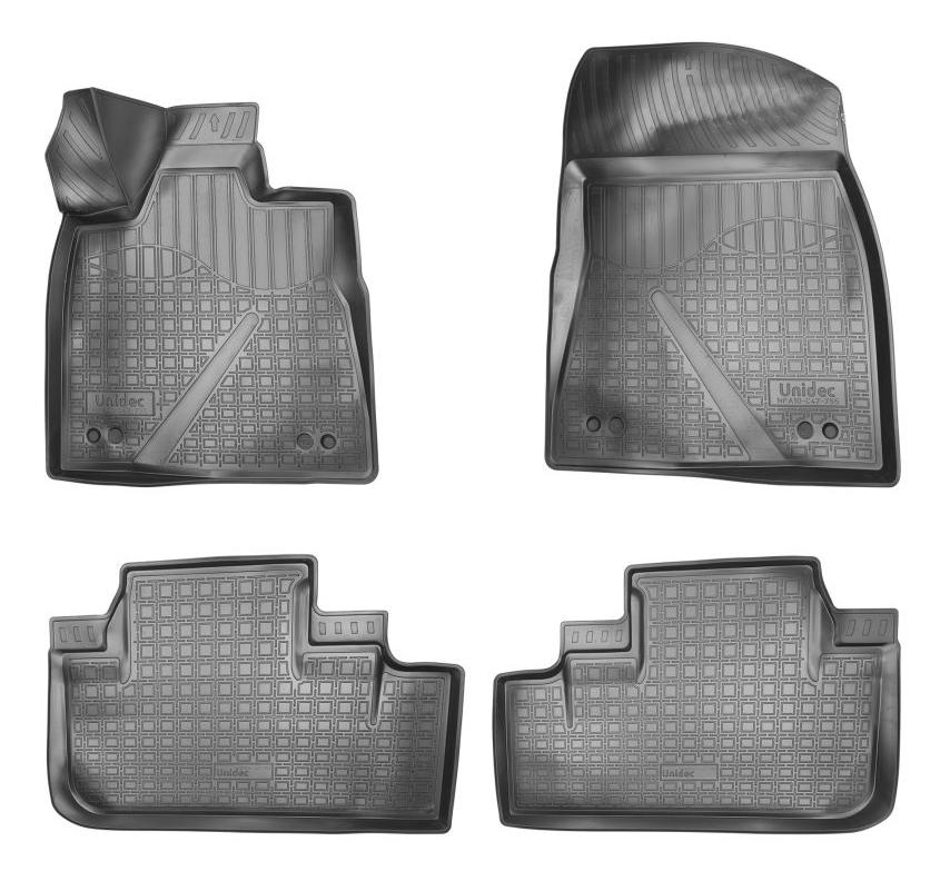 Комплект ковриков в салон автомобиля NORPLAST для Lexus (NPA10C47755)