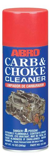 Очиститель карбюратора ABRO, 283 г