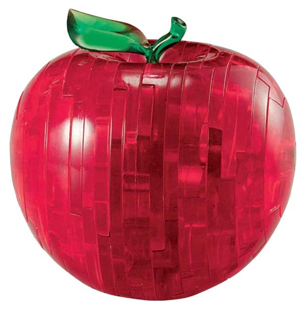 Купить Яблоко красное, 3D-пазл Crystal Puzzle 44 детали,