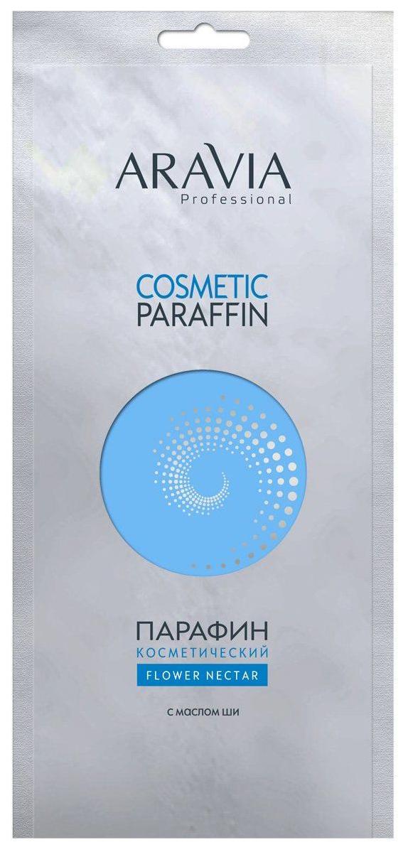Купить Парафин косметический Aravia Professional Цветочный нектар, 500 г, с маслом ши, Парафин косметический Цветочный нектар Spa - Manicure