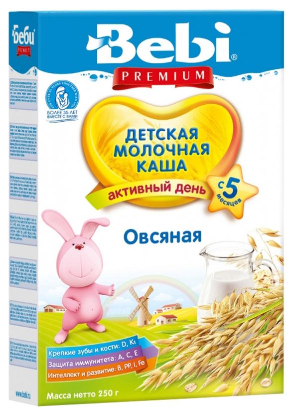Купить Овсяная 250 г, Молочная каша Bebi Овсяная с 5 мес 250 г, Детские каши