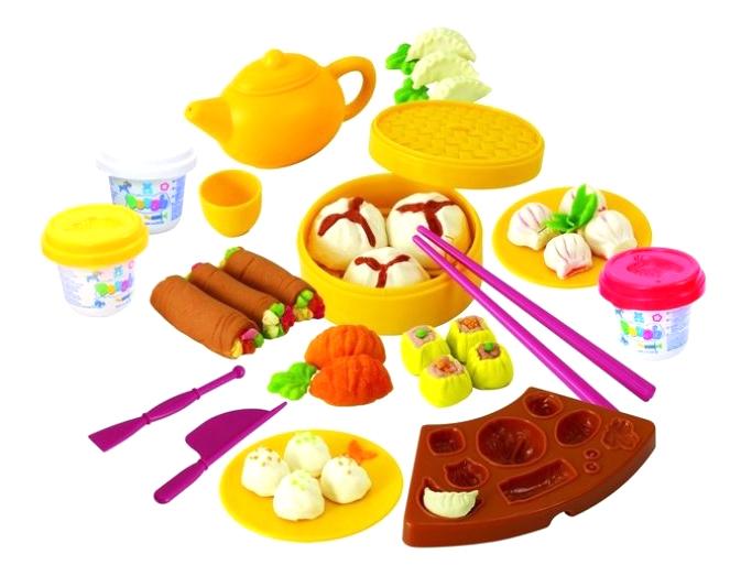 Набор для лепки из пластилина Playgo Китайская кухня фото