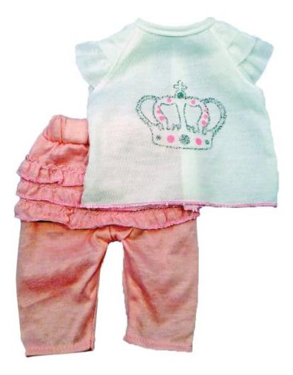 Фтболка и штанишки 38-42 см 452030 для кукол Mary Poppins фото