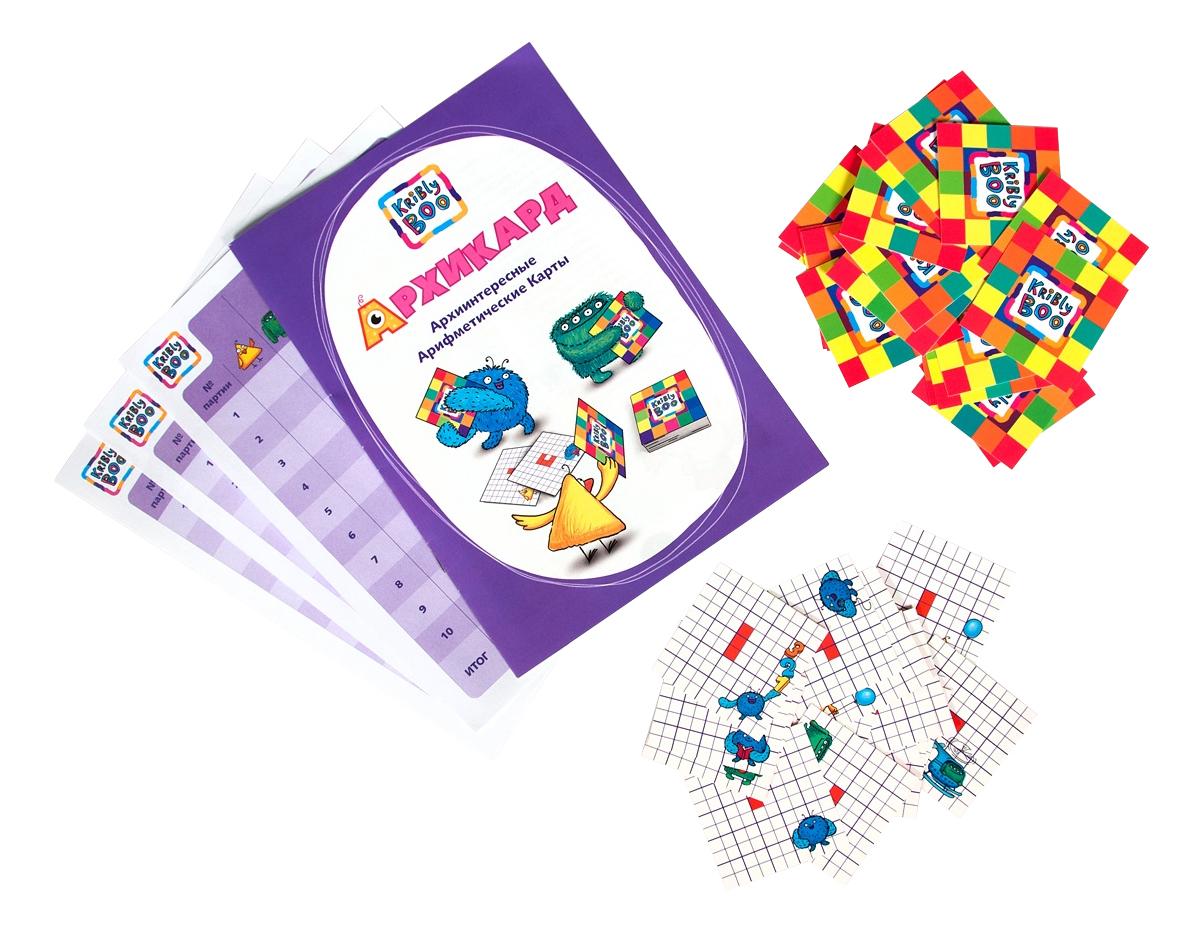 картинка Развивающая игрушка KriBly Boo Лингвистический Архикард от магазина Bebikam.ru