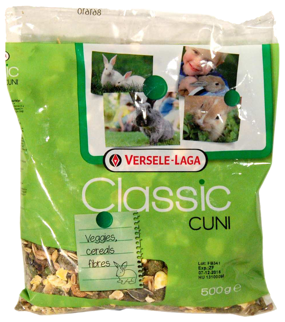 Корм для кроликов Versele Laga Classic Cuni