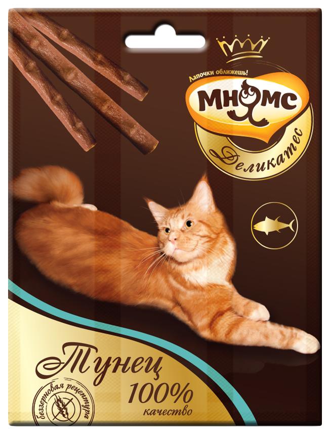 Лакомство для кошек Мнямс Деликатес, тунец,  0,012кг