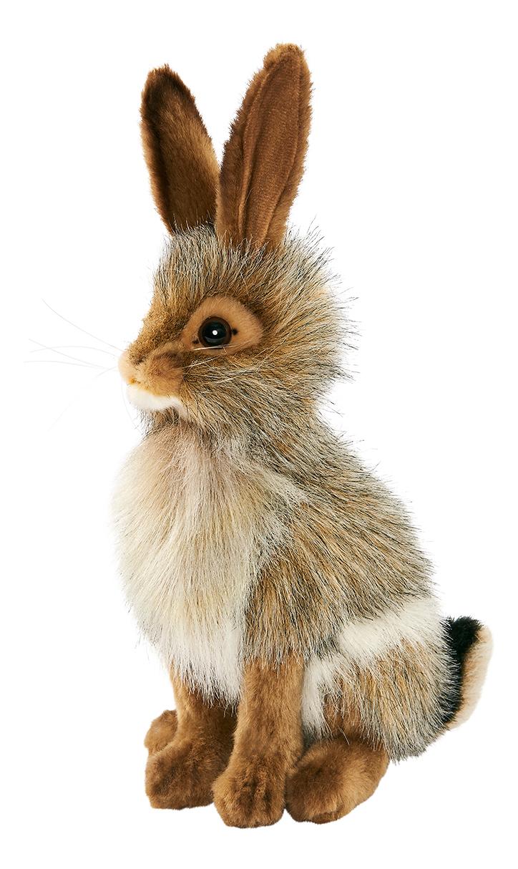 Купить Чернохвостый заяц, Мягкая игрушка Hansa 3584 Чернохвостый Заяц 30 см, Мягкие игрушки животные