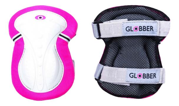 Защита Globber junior xs нарукавники и наколенники deep pink 6670 фото
