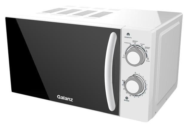 Микроволновая печь соло Galanz MOG-2005M white