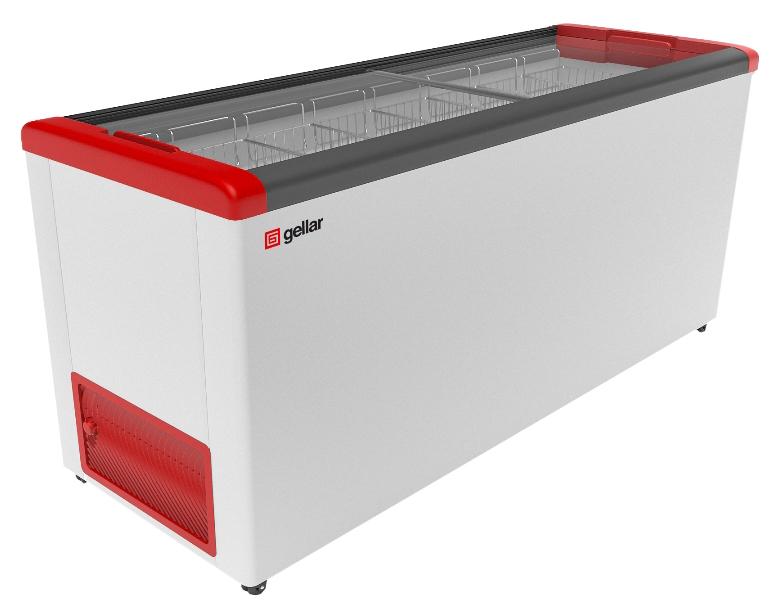 Морозильный ларь Gellar FG 700 C White/Red
