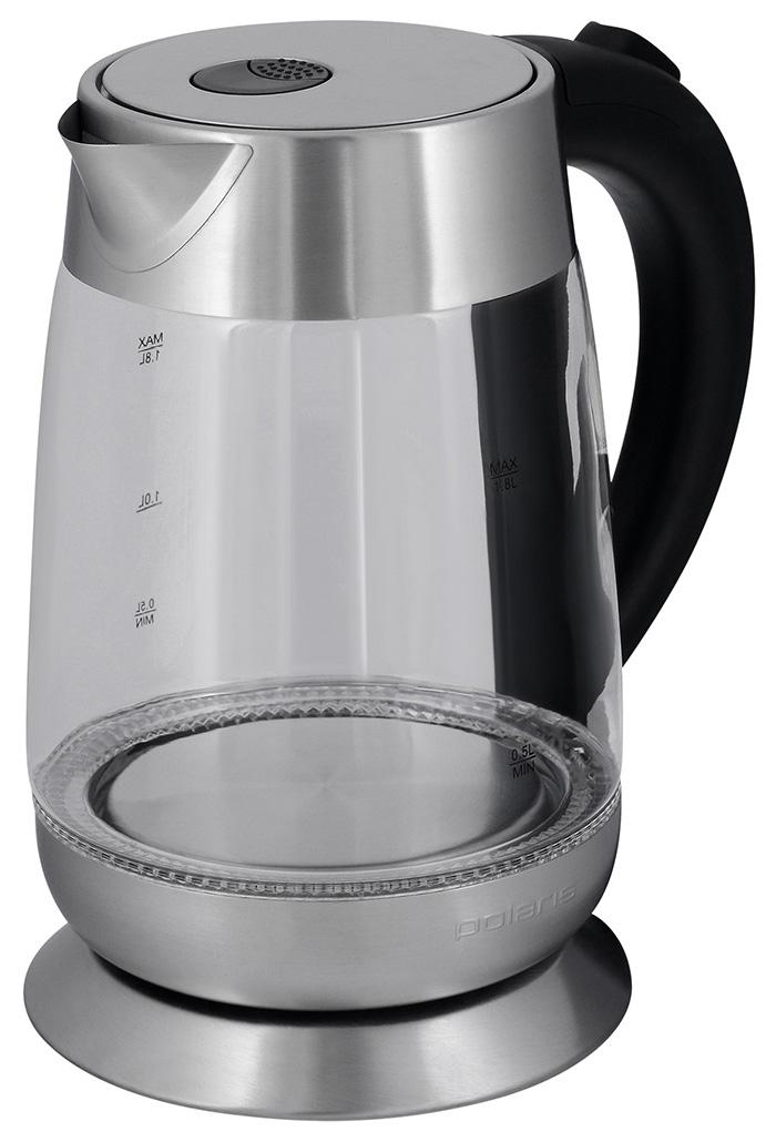 Чайник электрический Polaris PWK 1833CGL Black/Silver
