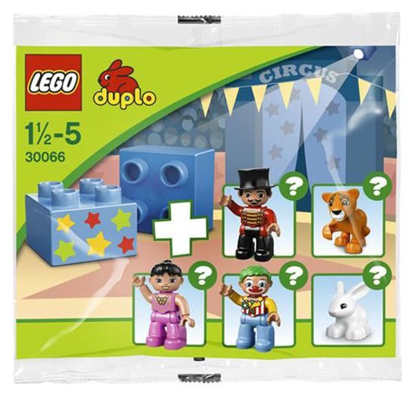 Конструктор LEGO Duplo Цирк 30066