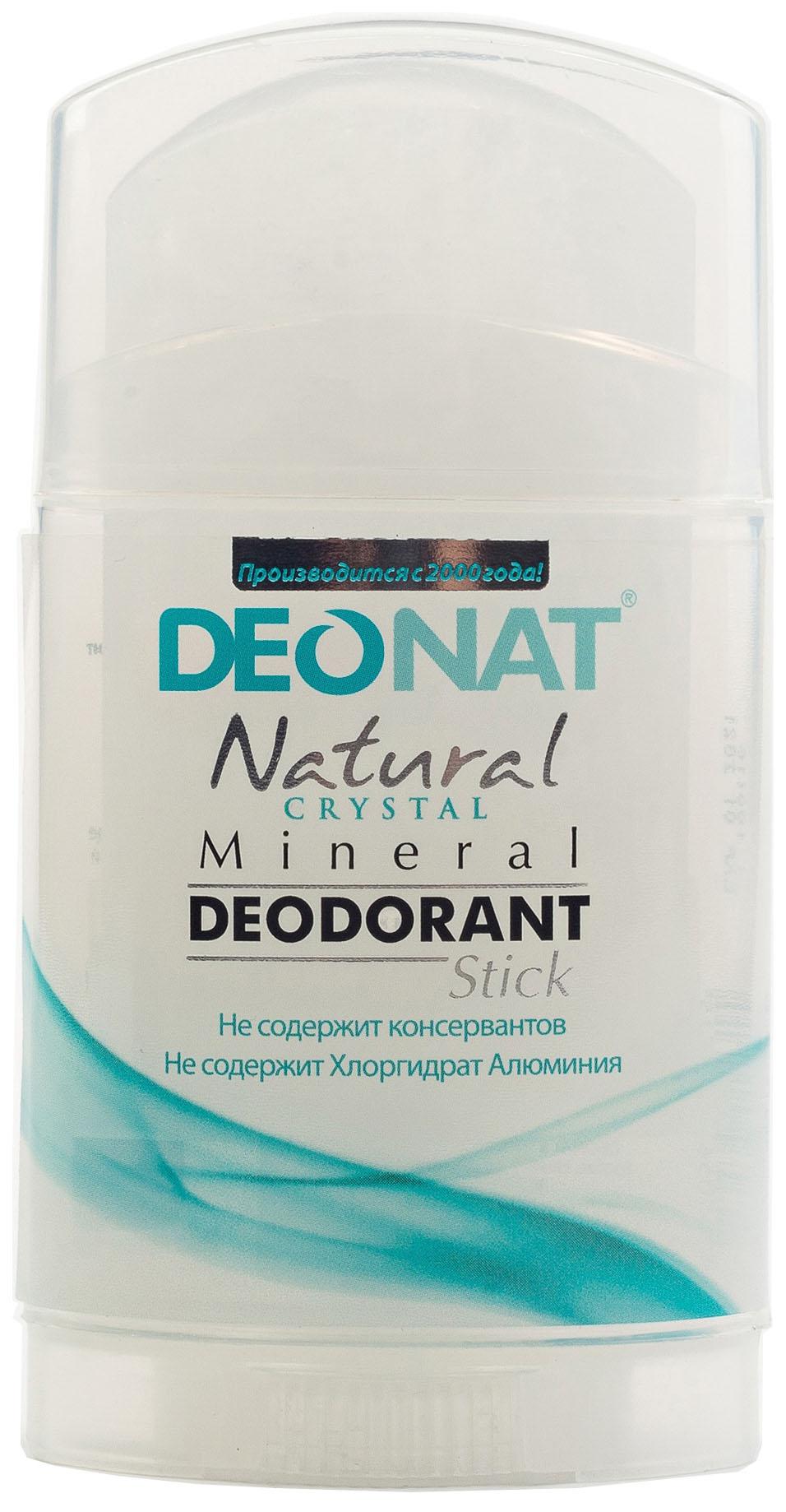 Дезодорант DeoNat Кристалл плоский цельный 100 г