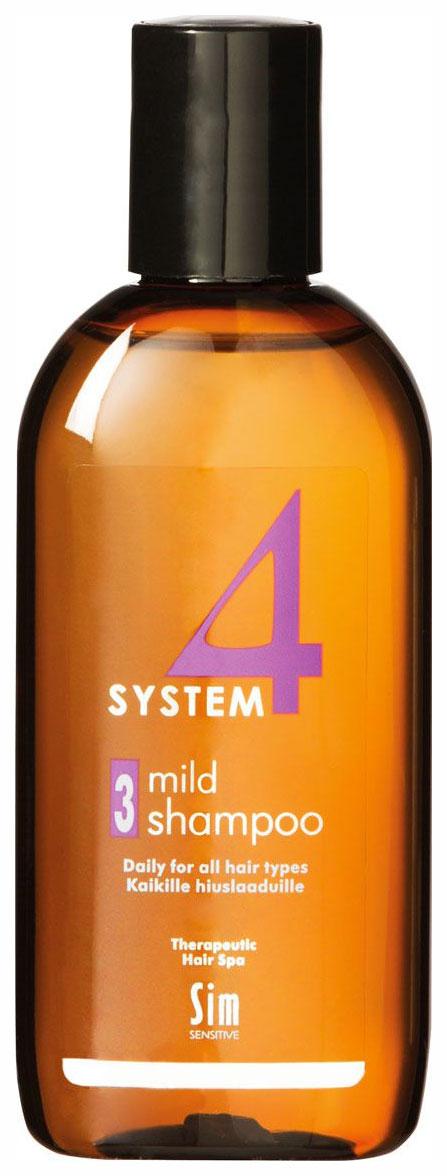 Шампунь Sim Sensitive System 4 Mild Climbazole №3 215 мл