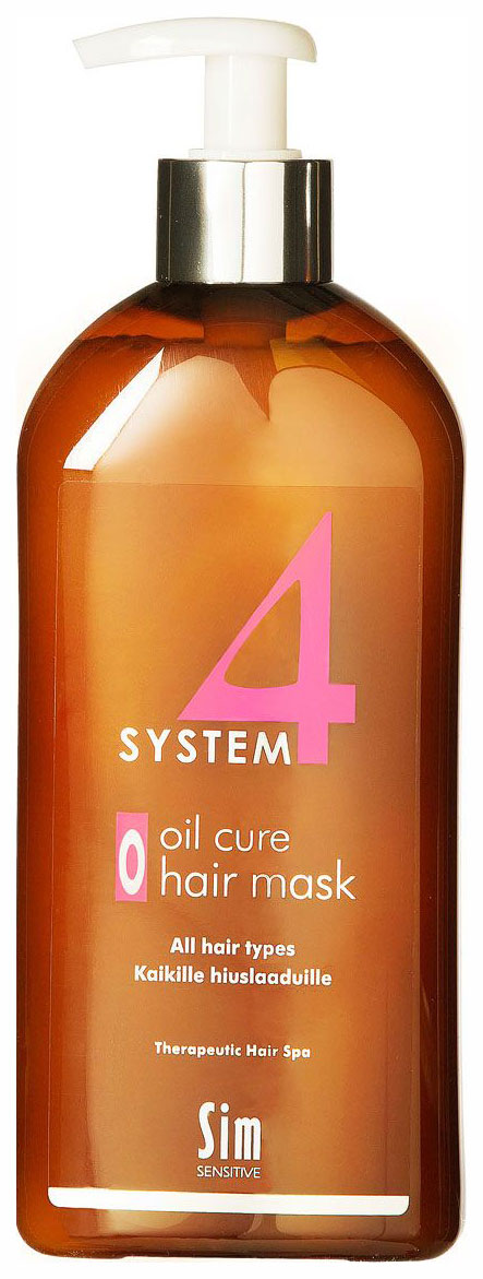 Маска для волос Sim Sensitive System 4 O Oil Cure Hair 500 мл