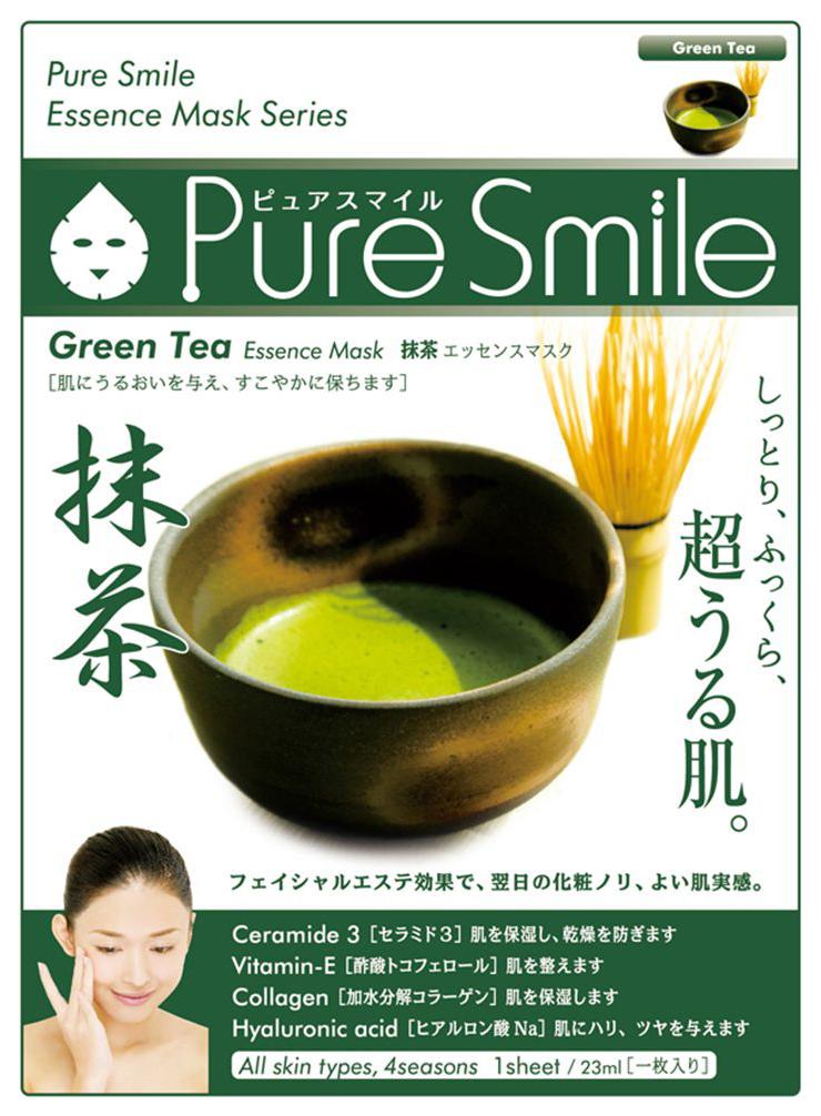 Маска для лица SUNSMILE Pure Smile Essence Mask Green Tea 23 мл фото