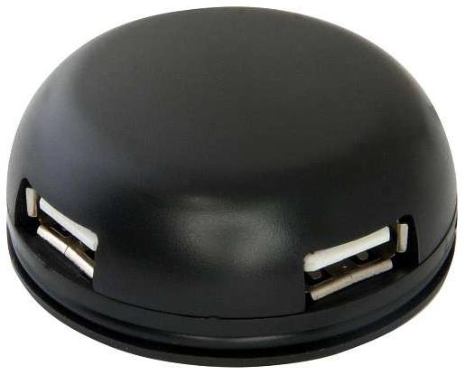 Разветвитель для компьютера Quadro Light USB 2,0, 4 порта Defender #1 фото