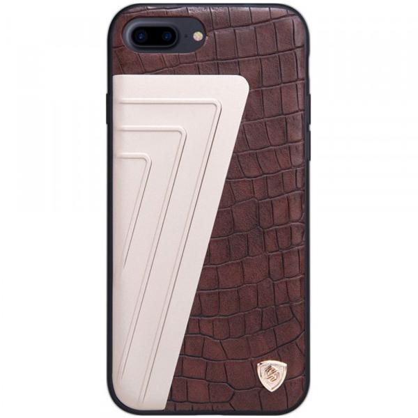 Чехол Nillkin Hybrid Series для Apple iPhone 7 plus / 8 plus Brown/Gold