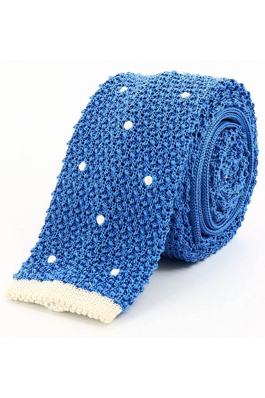 Галстук мужской Smalto 58505 голубой