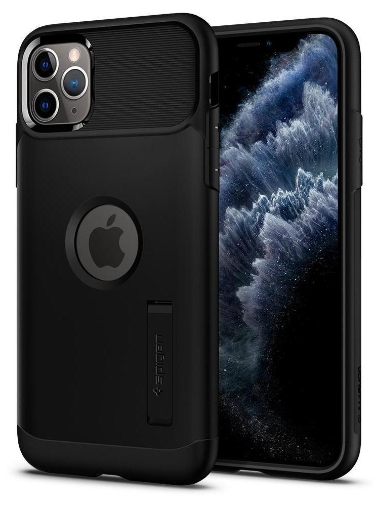 Чехол Spigen Slim Armor 077CS27099 для iPhone 11 Pro Black фото