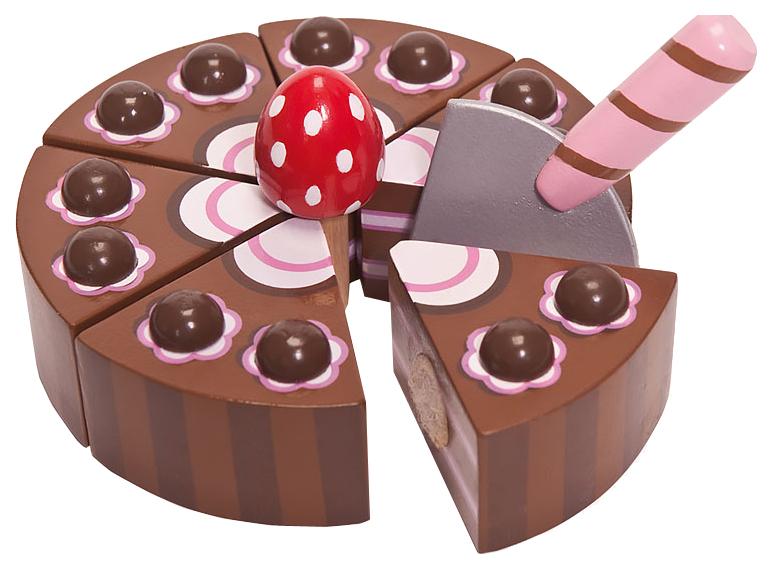 Игрушечная еда Le Toy Van Шоколадный торт