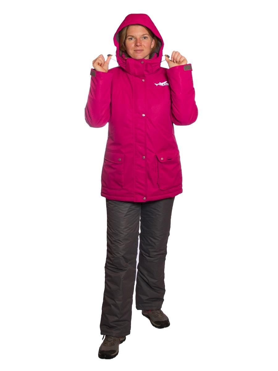 Зимний женский костюм KATRAN Сальвия -35 С таслан, фуксия, 40-42, 158-164