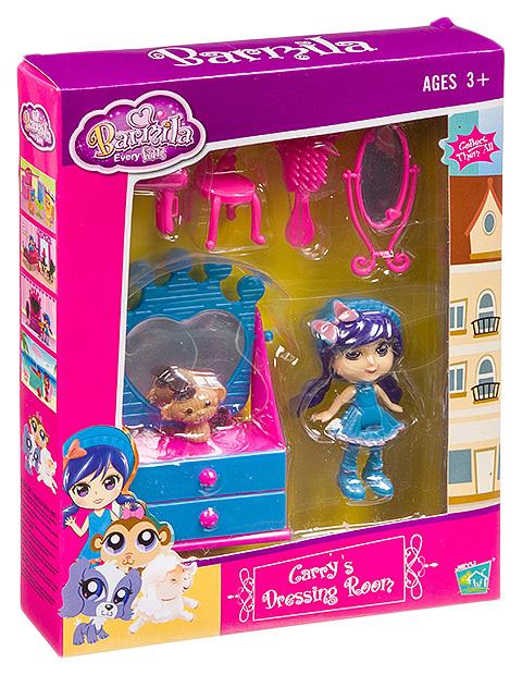 Игровой набор куколка с аксессуарами, ВОХ 23,5х18,5х3,8 см, арт.60225.